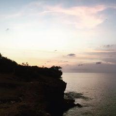 Photo taken at Tegal Wangi Beach by gayu ㋡. on 11/29/2015