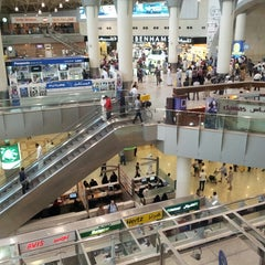 Photo taken at Kuwait International Airport (KWI) by Kathryn F. on 6/1/2013