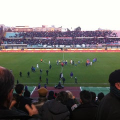 "Photo taken at Stadio Cibali ""Angelo Massimino"" by Lisa G. on 1/27/2013"