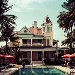 Photo taken at The Southernmost House by Tomas P. on 7/15/2015