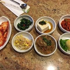 Photo taken at Shin Chon Garden Restaurant by Chris C. on 11/22/2015