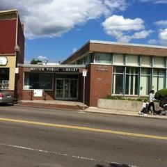 Photo taken at Boston Public Library - Fields Corner Branch by Rosanne F. on 6/6/2014