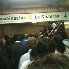 Photo taken at Metro Los Héroes by David R. on 11/12/2012