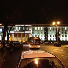 Photo taken at ВГУ by Dmitriy Y. on 12/10/2012