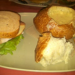 Photo taken at Panera Bread by Angela A. on 11/9/2012