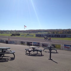 Photo taken at Vernon Downs Harness Track by Ted B. on 10/12/2013