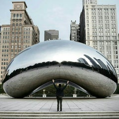 Photo taken at Millennium Park by 👱DG . on 7/3/2015