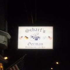Photo taken at Scharfs German Restaurant und Bar by Scharfs German Restaurant und Bar on 8/31/2014