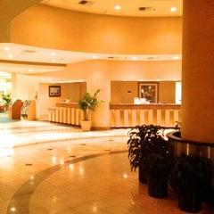 Photo taken at Crowne Plaza Anaheim Resort by Sam D. on 12/1/2012