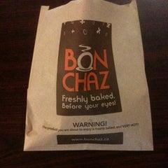 Photo taken at Bonchaz Bakery Cafe by Erik A. on 1/31/2013