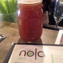 Photo taken at Cafe Nola by John B. on 12/27/2013