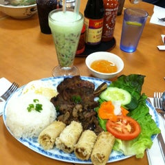 Photo taken at Saigon Cuisine by Christina H. on 6/15/2013