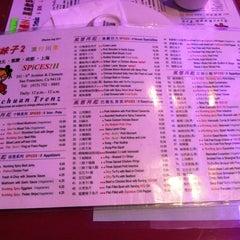 Photo taken at Spices!!  辣味子2 流行川湘 by Christina H. on 10/28/2012