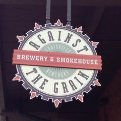 Photo taken at Against The Grain Brewery by Jeff E. on 7/5/2013