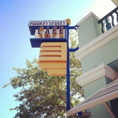 Photo taken at Market Street Cafe by Caroline H. on 3/27/2013