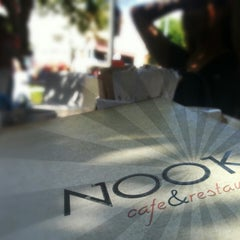Photo taken at Nook Cafe & Restaurant by Adam S. on 6/23/2013
