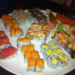Photo taken at Sushi X: All You Can Eat Sushi by Chelsea B. on 4/4/2013