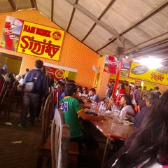 Photo taken at Nasi Bebek Sinjay by Dito A. on 3/16/2014