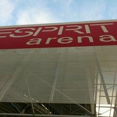 Photo taken at ESPRIT arena by Bastien M. on 12/4/2012