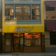 Photo taken at SUBWAY by Lily S. on 2/4/2013