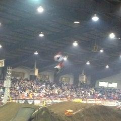 Photo taken at Ozark Empire Fairgrounds by Leslie J. on 1/6/2013