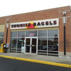 Photo taken at Sunrise Bagels by Irma R. on 11/25/2012