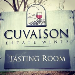 Photo taken at Cuvaison Estate Wines by Rachel R. on 3/9/2014