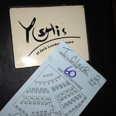 Photo taken at Yoshi's Jazz Club & Japanese Restaurant by Tricia C. on 11/16/2012