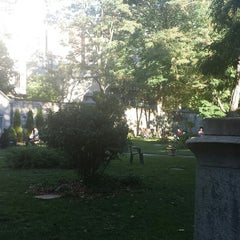 Photo taken at New York City Marble Cemetery by Benjamin L. on 10/12/2014