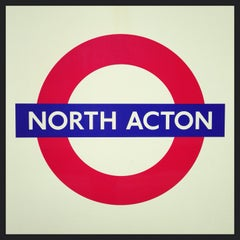 Photo taken at North Acton London Underground Station by Demsi on 9/27/2013
