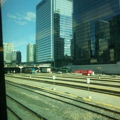 Photo taken at Union Station Platform 5 by Peter G. G. on 4/5/2013