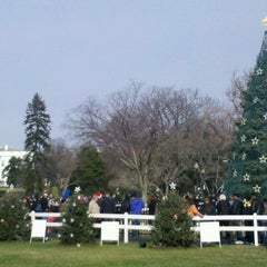 Photo taken at The Ellipse — President's Park South by Todd H. on 12/25/2012