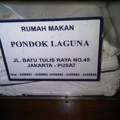 Photo taken at Pondok Laguna Resto by melztwin l. on 2/23/2013