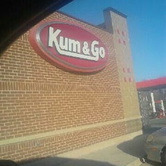 Photo taken at Kum & Go by Heather P. on 11/14/2012