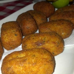 Photo taken at Bolinho De Bacalhau by Pri A. on 12/9/2012