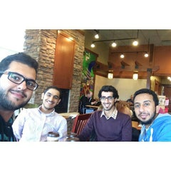 Photo taken at Caribou Coffee by Khalid A. on 9/14/2014