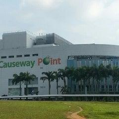 Photo taken at Causeway Point by Pangeran K. on 11/30/2012