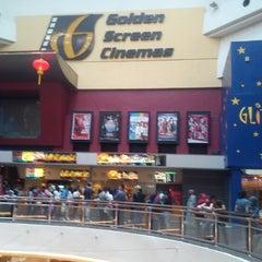 Photo taken at Golden Screen Cinemas (GSC) by Hafiz J. on 2/9/2013