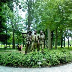 Photo taken at Vietnam Veterans Memorial by SpartanFanEric on 6/27/2013