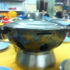 Photo taken at Restoran Yuen Buffet Steamboat by Faye C. on 11/8/2012