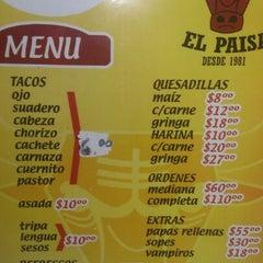 Photo taken at Taqueria El Paisa by Daniel C. on 5/5/2013