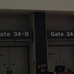 Photo taken at Gate 34 by Hawaiian M. on 2/15/2013