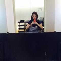 Photo taken at Lucy Britanico Salon (Glorietta 3) by Francine Nicole S. on 3/15/2015