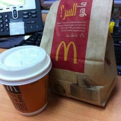 Photo taken at McDonald's - ماكدونالدز by mikoydxb on 3/18/2013