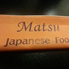 Photo taken at Matsu Japanese Food | 松 by Luiza G. on 5/30/2013