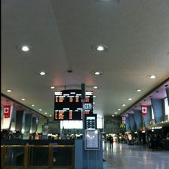 Photo taken at Gare Centrale by Dom H. on 3/16/2013