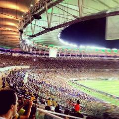 Photo taken at Estádio Jornalista Mário Filho (Maracanã) by Yago S. on 6/3/2013