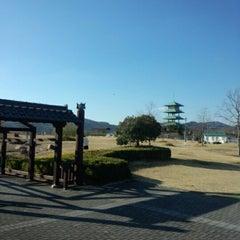 Photo taken at 山陽道 吉備SA (下り) by Hideo H. on 1/11/2013
