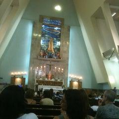 Photo taken at Igreja Nossa Senhora de Fátima e São Jorge by Paulo A. on 12/2/2012