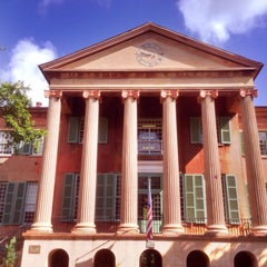 Photo taken at Harrison Randolph Hall, College of Charleston by Johnny A. on 6/18/2014